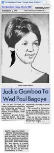 Jackie Gamboa 1968