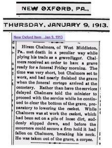 Hiram Chalmers 1913