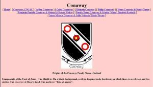 Conaway Web Site