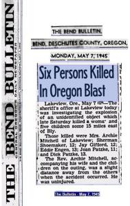 Six Killed 1945