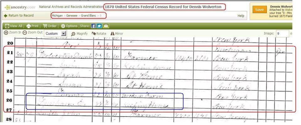 1870 Census