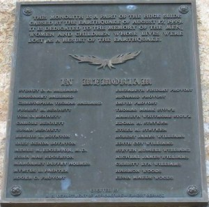Names on Plaque