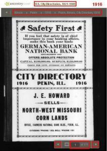 03 - 1916 - City Directory - Pekin, Illinois