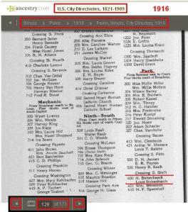 09 - 1916 - H and Louis Birkenbusch 600 Park