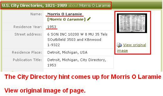 1 - 1953- Hint listing Laramie