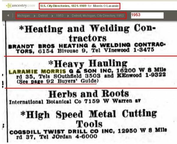 10 - Laramie Equipment Morris Godon n Jr 1953 text