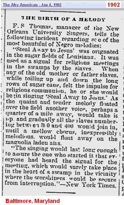 1902 - The Birth of a Melody - Baltimore