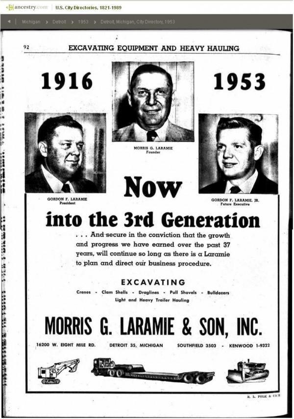 5 - Laramie Equipment Morris Godon n Jr 1953