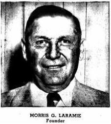6 - Morris G Laramie 1953 Detroit City Dir Ad for business