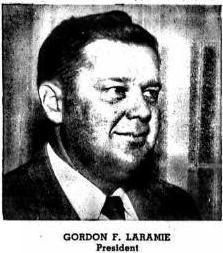 7 - Gordon F Laramie 1953 Detroit City Dir Ad for business