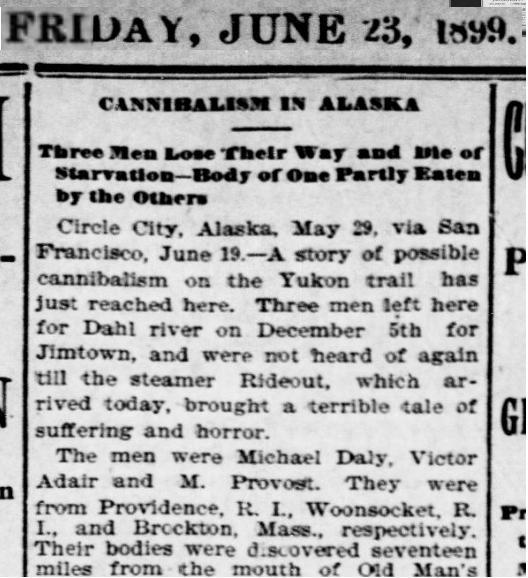 1899 - Lost in Klondike - Provost 001