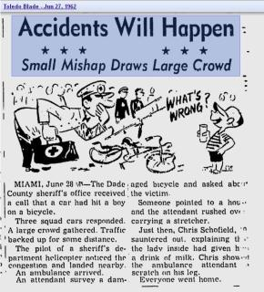 Accidents will happen 1962