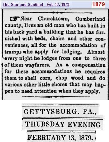 Help the poor 1879 - Penn