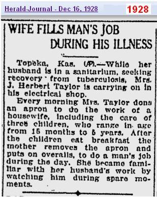Wife in Kansas Dec 1928