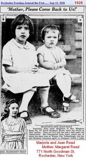 1928 - 2 little girls Rochster NY - Read Family