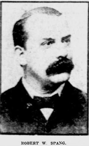 Robert W Spang Jan 1910 frm obit - Reading Penn