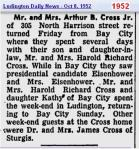 1952-news-arthur-cross-family-bay-city