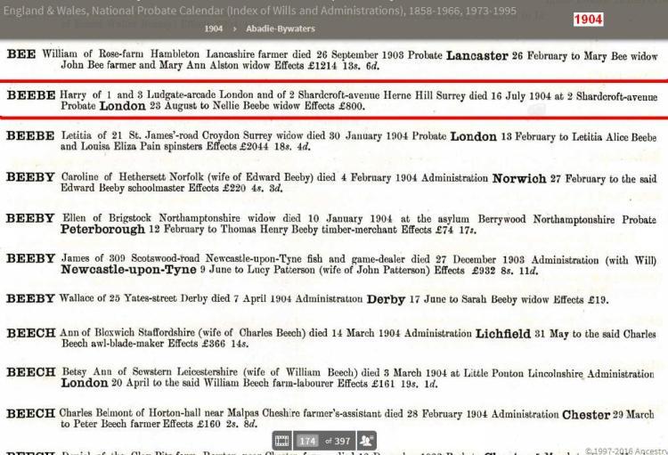 005-harry-beebe-death-16-jul-1904-london