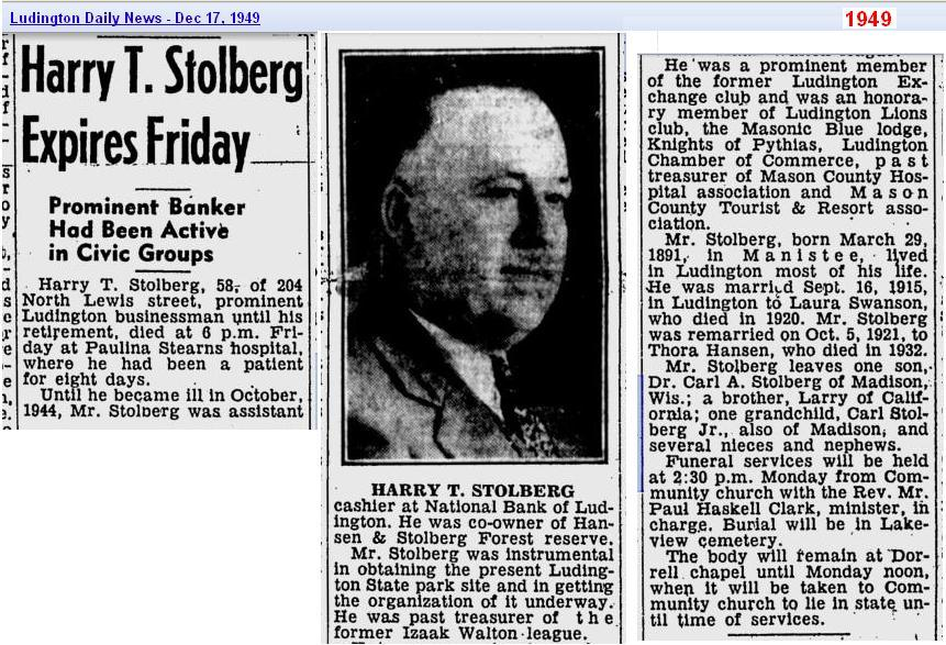 obit-harry-t-stolberg-dec-1949-ludington