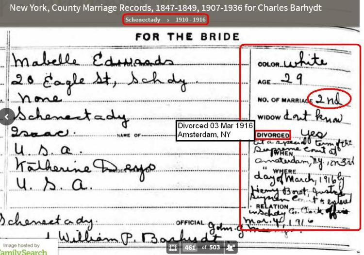 marriage - to Charles