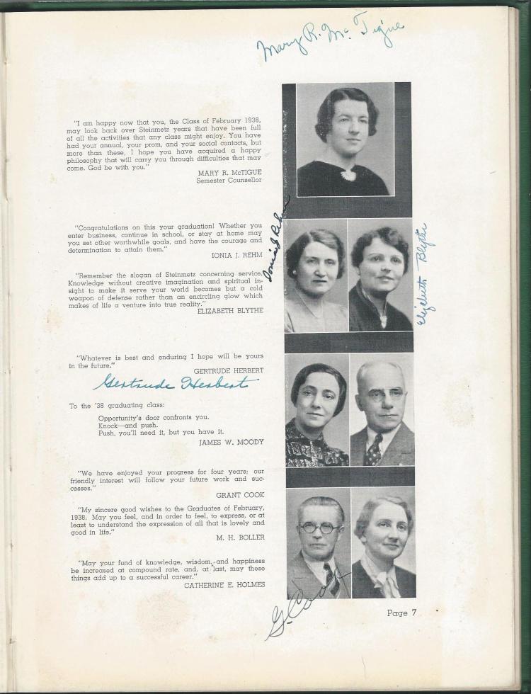 1938 HS Yearbook pg 07