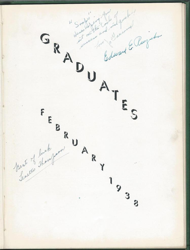 1938 HS Yearbook pg 09