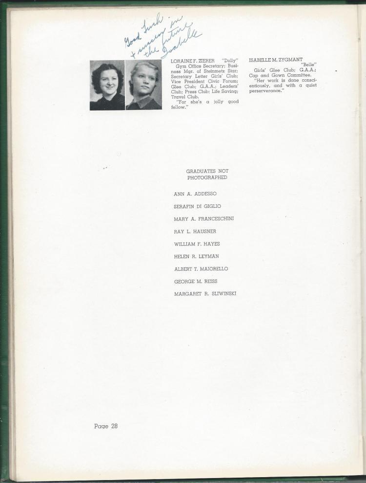 1938 HS Yearbook pg 28