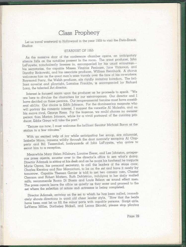 1938 HS Yearbook pg 29