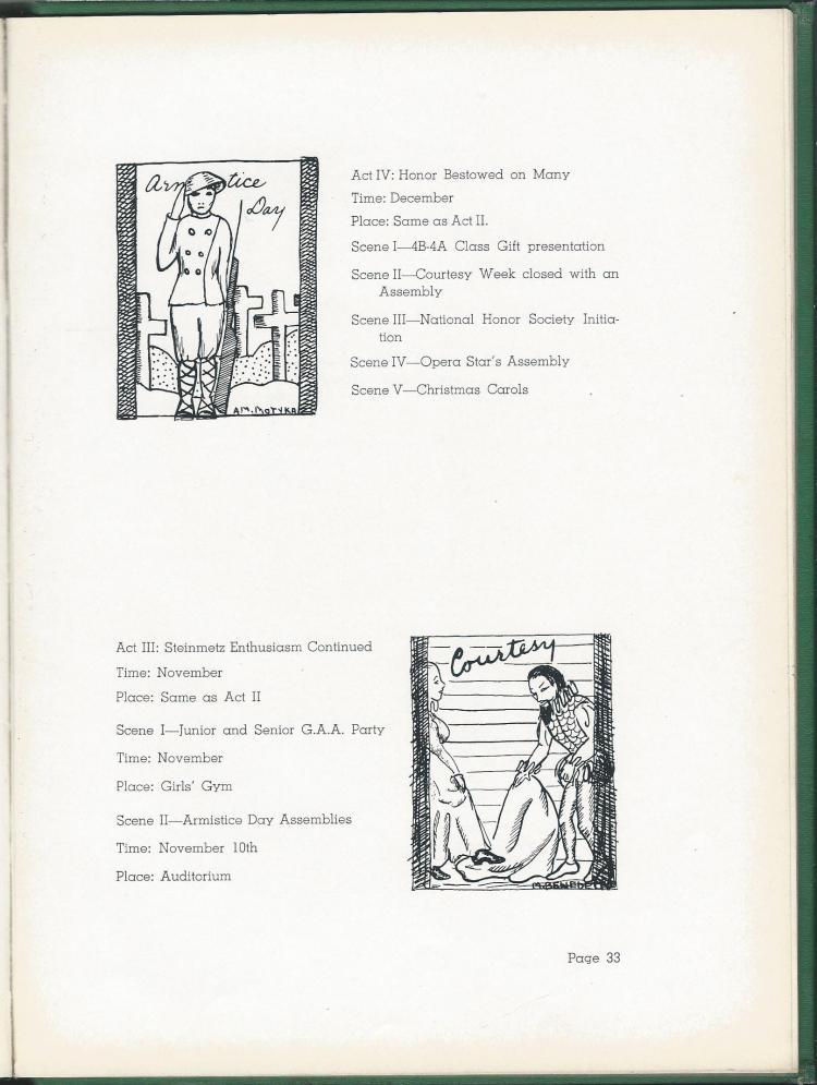 1938 HS Yearbook pg 33