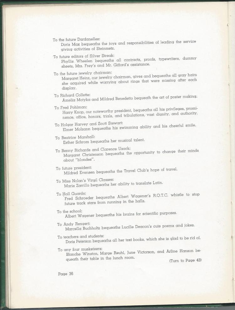 1938 HS Yearbook pg 36