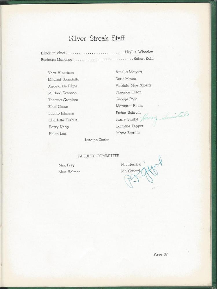 1938 HS Yearbook pg 37