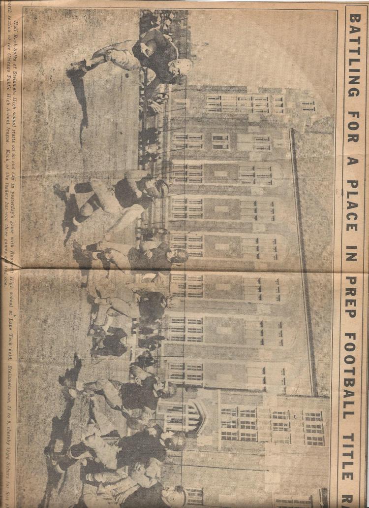 Harry Kopp 1938 football photo