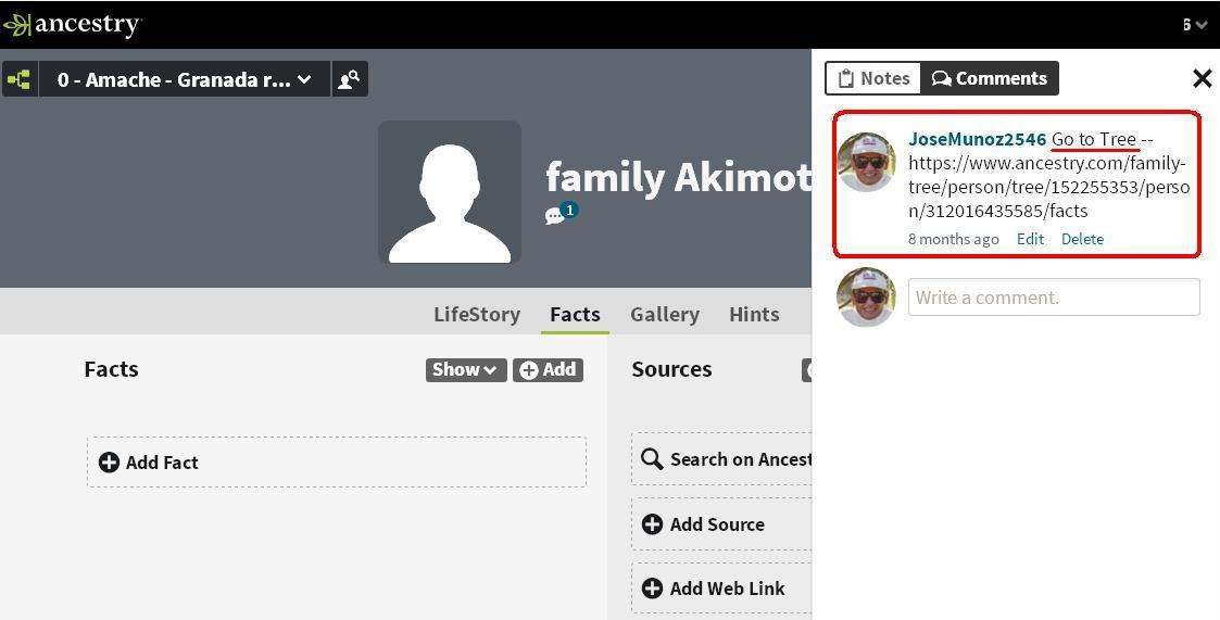 Akimoto profile page