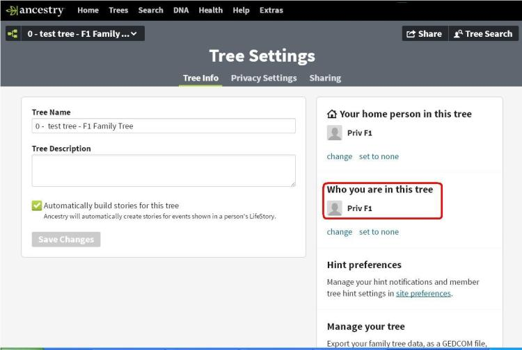 FB - 2nd cousins - test tree 10