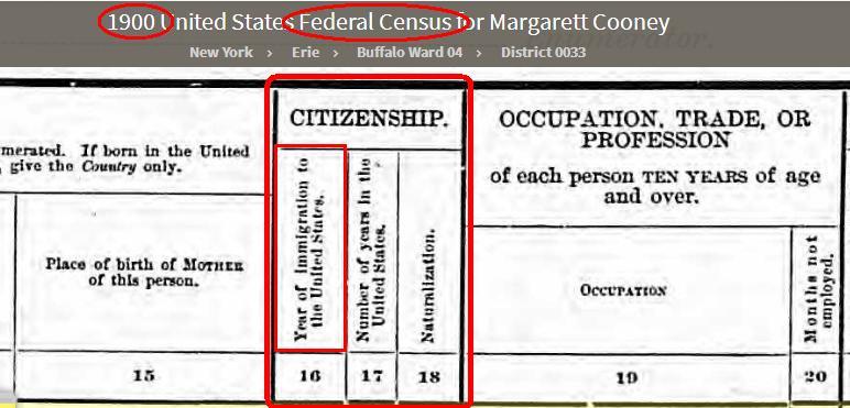 1900 - US census - Imig box- Barnard