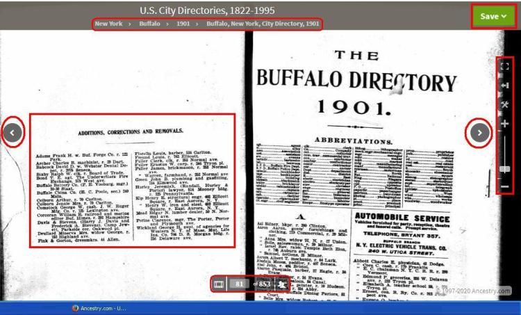 1901 - City Dir - McClary Bernard not shown bu not in additions