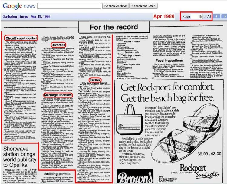 06 - Apr 20 1986 - other items in Alabama newspaper